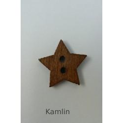 Knoflík - hvězdička