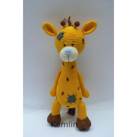 Návod na háčkovanou žirafku Radku