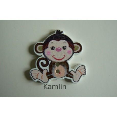 Knoflíček - opička
