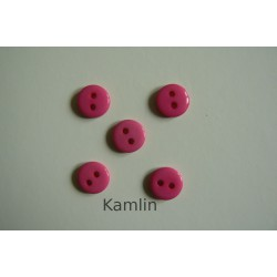 knoflíček malý - tm. růžová