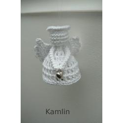 Návod na háčkovaného andílka - bílého