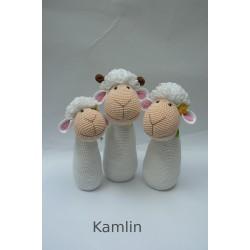 Návod na háčkované ovečky - dekorace