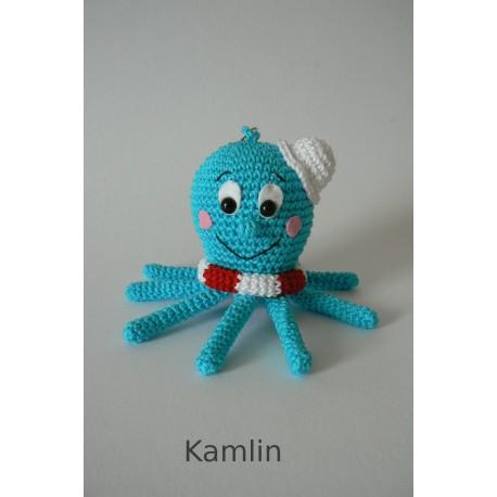 Návod na háčkovanou chobotničku - přívěsek