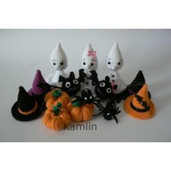 Návod na háčkované halloweenské dekorace