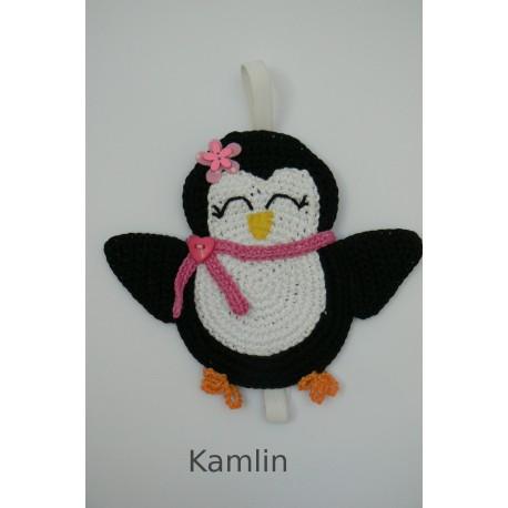 Záložka do knížky - tučňák