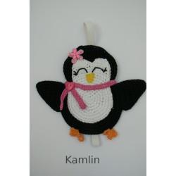 Návod na záložku - tučňák