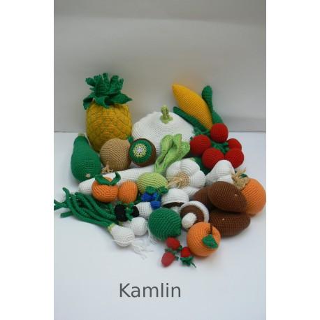 Návod a háčkované ovoce a zeleninu II. - 20 druhů