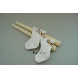 Návod na háčkovanou ponožtičku