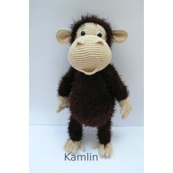 Háčkovaný šimpanz na přání