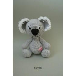 Návod na háčkovaného medvídka Koalu
