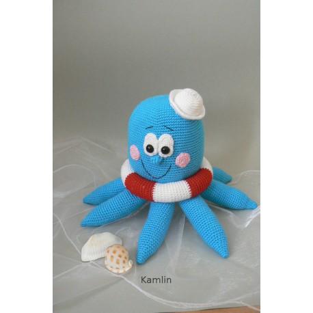 Návod na háčkovanou chobotničku Leničku