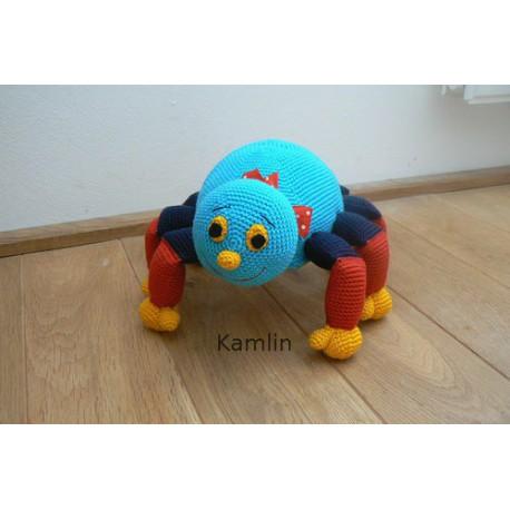 Návod na háčkovaného pavoučka - osmimožku