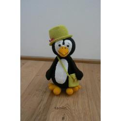 Návod na háčkovaného tučňáka Ondru