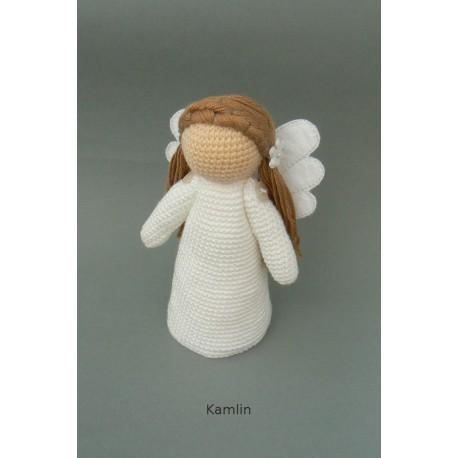 Návod na háčkovaného andílka Amálku