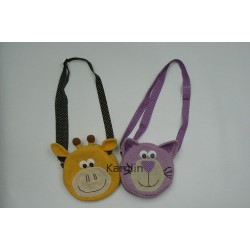 Návod na háčkovanou kabelku - kočička a žirafka