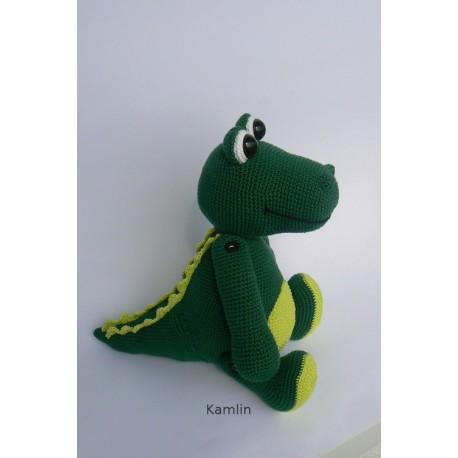 Návod na háčkovaného krokodýla Bertíka