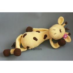 Návod na háčkovanou žirafku