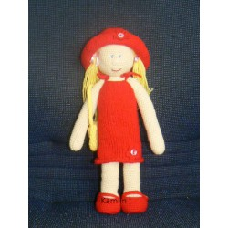 Návod na oblékací panenku - háčkovaná